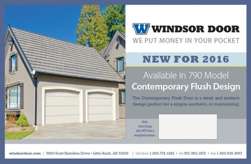 Contemporary Flush - New Product Release!